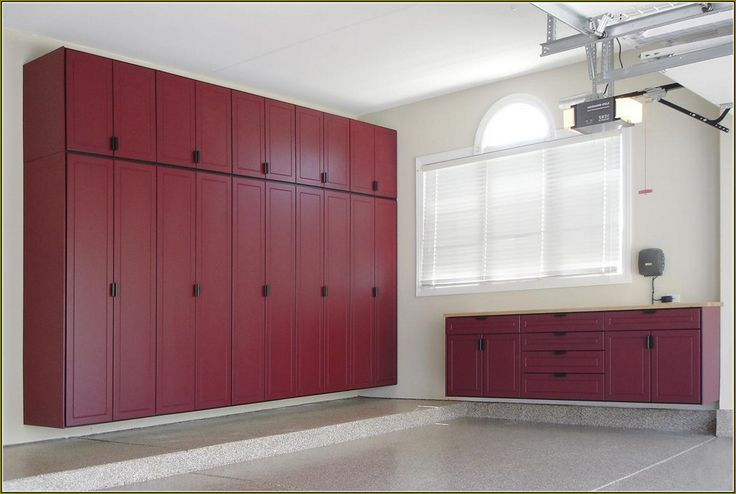 Plywood Garage Cabinets