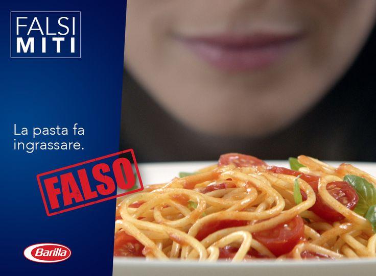 Sfatiamo anche questo falso mito! La pasta non solo fa bene all'umore, ma è indicata anche nelle diete dimagranti grazie alla sua digeribilità e capacità di saziare con gusto