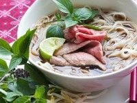 Vietnamese Beef Broth - We went to a Pho Noodle restaurant over the weekend and the broth was AMAZING.  My kids said it tasted like Christmas.  Found this recipe and found out why - cinnamon, cardamom, anise, cloves.  So DELICIOUS!!!  I've got to make it myself.