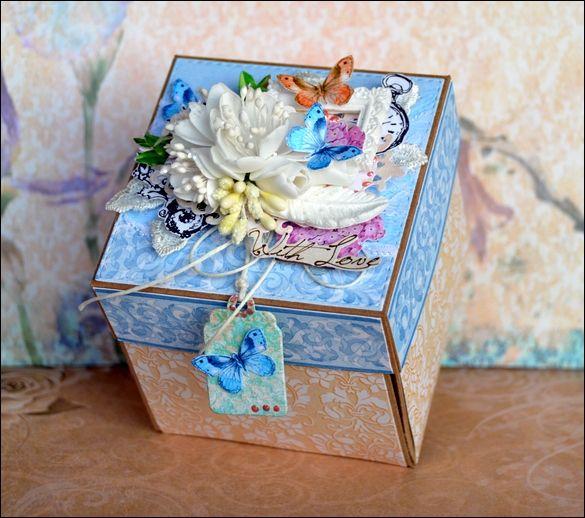 Mini album exploding box.