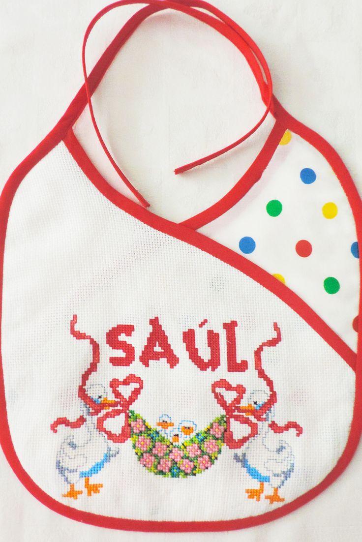 Babero personalizado para Saúl