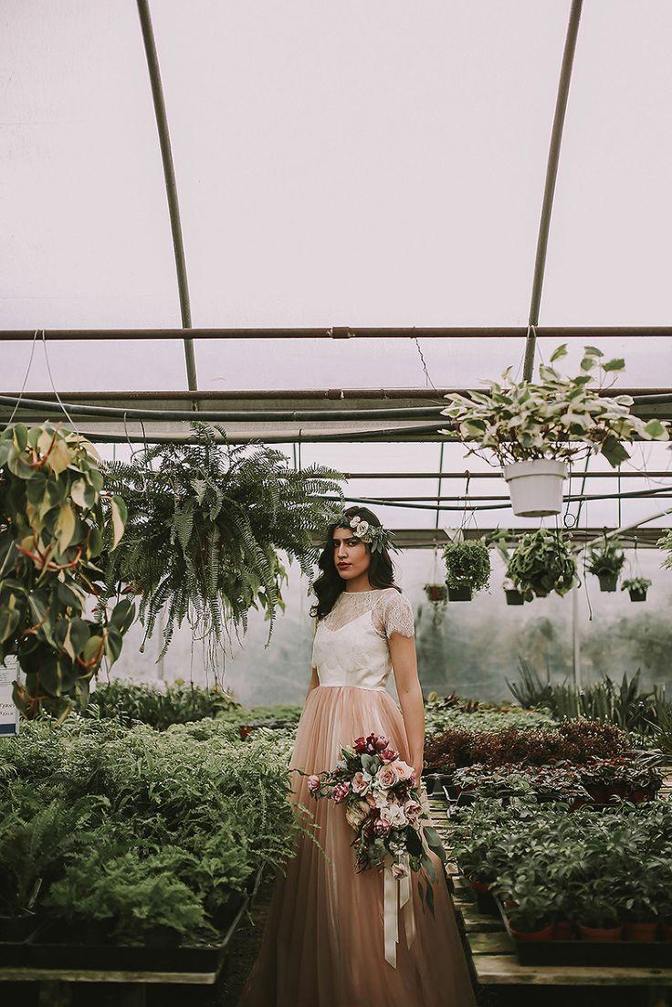 Utah Wedding Photographer / Chantel Lauren Designs » Summer Taylor Photography Sweet Grace Floral  Utah greenhouse spring bridals