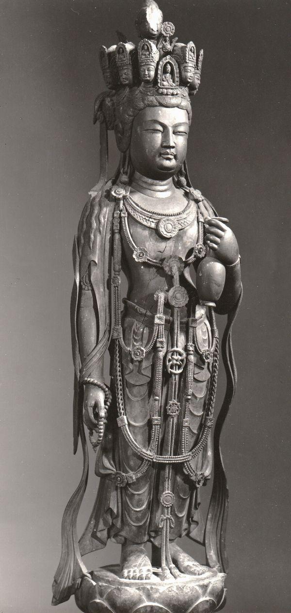 九面観音像-kumenkannonzou-(Avalokiteśvara Bodhisattva) The bodhisattva who rescues…