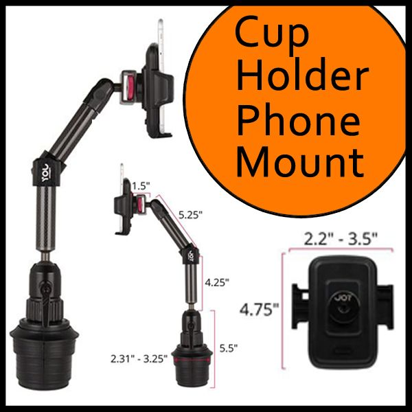 25 best images about cup holder phone mount on pinterest
