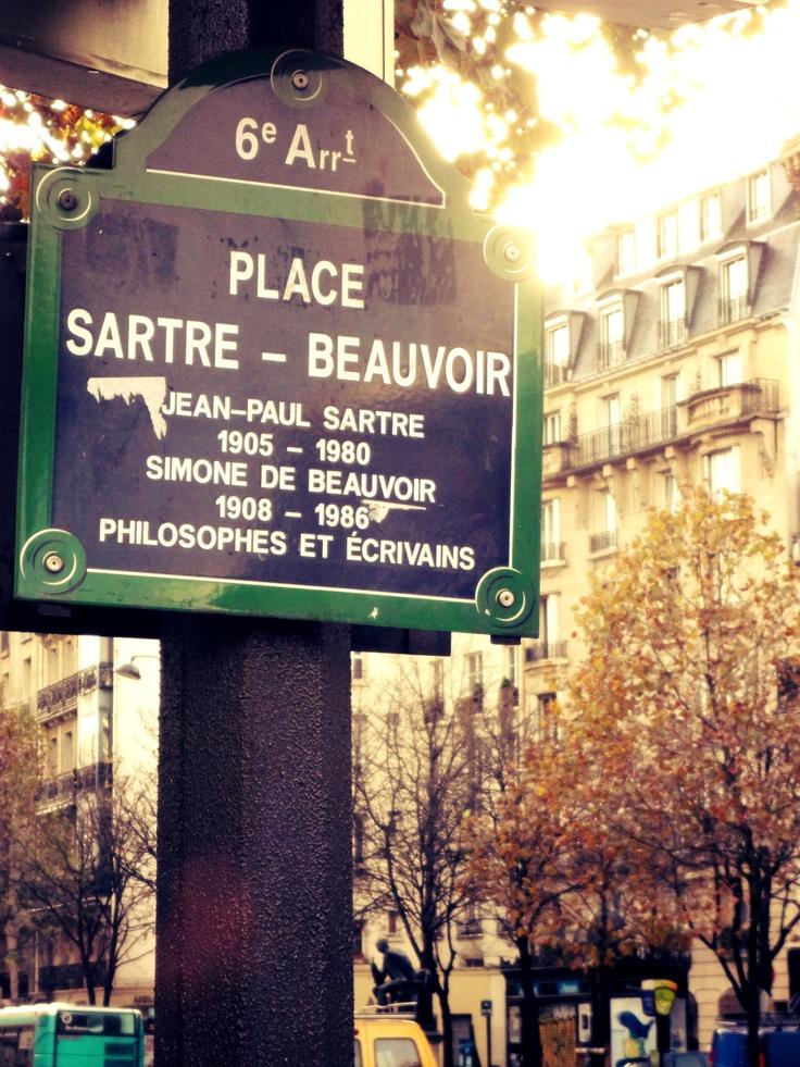 Place Sartre-Beauvoir / 6th Arrondissement / Paris /