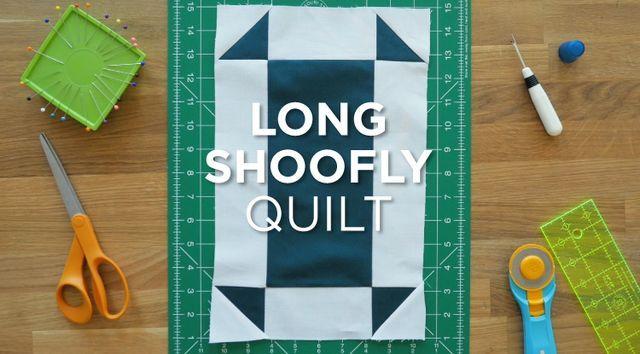 Quilt Snips Mini Tutorial: Long Shoofly