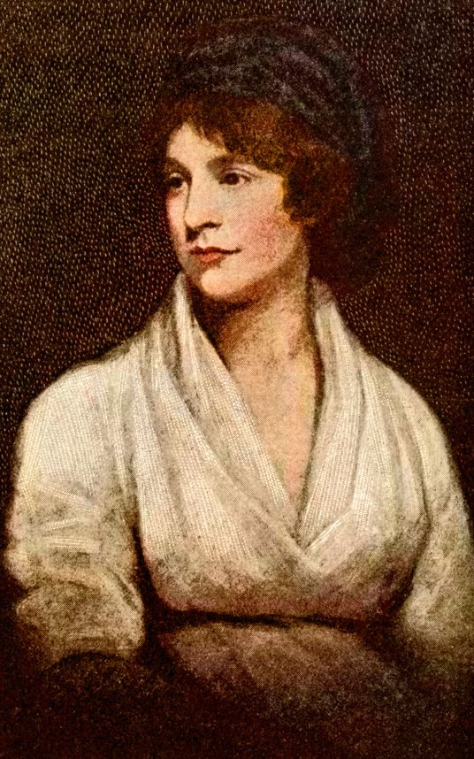 Writer Mary Wollstonecraft was famous for defending women's rights, as well as    for her unconventional personal life. A frank biography published by her    husband William Godwin after her death, which revealed, among other things,    that she had borne a child out of wedlock, provoked outrage.