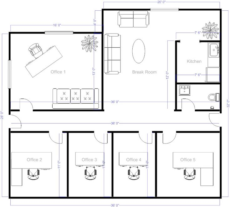 Best 25 office layouts ideas on pinterest home office for Blueprint drawing program