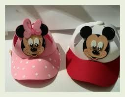 Resultado de imagen para moldes para gorras de foami de mickey mouse