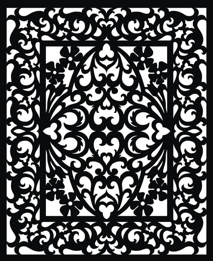 Aesthetic Fretwork Panels as Your True Enhancement: Vectorized Fretwork Pattern ~ dmetree.com Best Of Inspiration