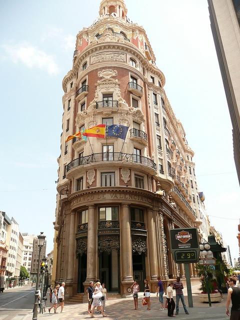 Banco de Valencia-MY FAVORITE BUILDING IN VALENCIA! It was so beautiful!-M