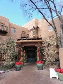 Hotel Santa Fe Hacienda & Spa (Santa Fe NM). Dinner for two in a teepee here, so doing that :)