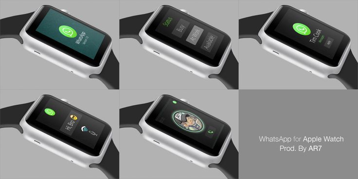 WhatsApp concept designed for  Watch