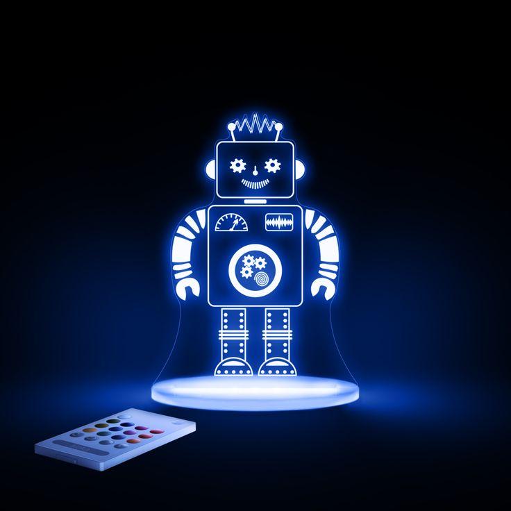 Robot Night Light