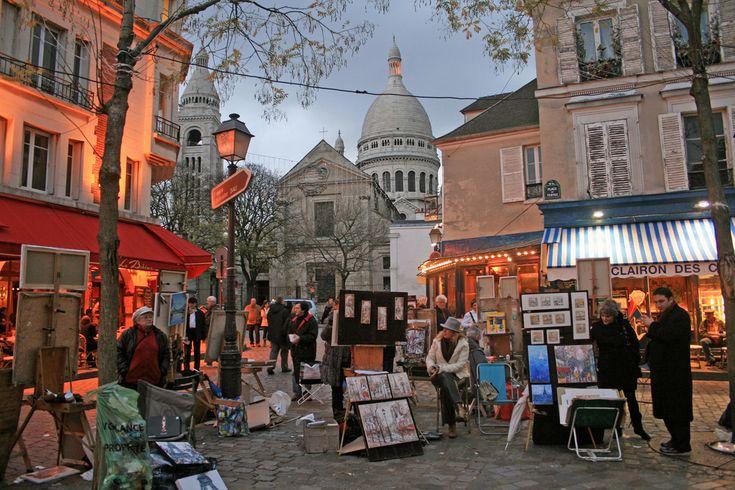 PARIS - Place du Tertre