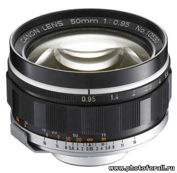 Canon S-type 50mm f/0.95