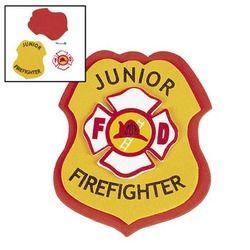 Firefighter / Fireman Badge DIY (6)