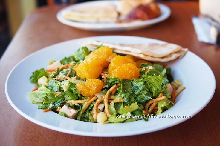 Random Meal Of The Day: The Chinese Chicken Salad at California Chicken Cafe