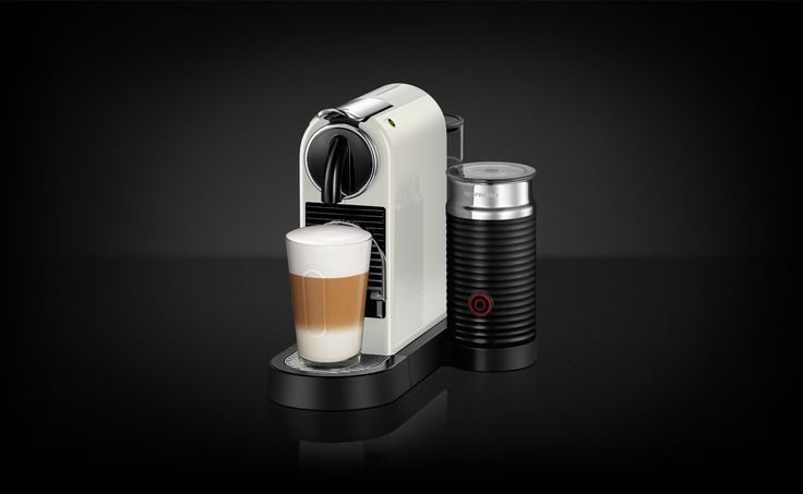 UMilk Pure Cream kaffemaskin er liten, kompakt, med sofistikert high end-teknologi. Brygg din egen kaffe akkurat slik du vil ha den.