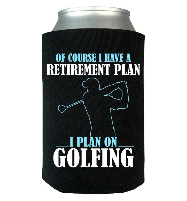 I Plan On Golfing Canwrap