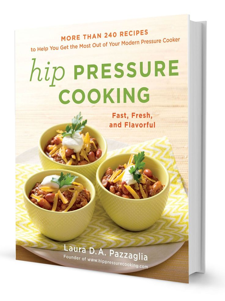 """Authoritative, concise, and creative, Hip Pressure Cooking is the final word on using your pressure cooker to full effect. This isn't just your grandmother's cooking tool. The harried, modern home cook can benefit immensely from a pressure cooker's ability to get an elegant and delicious meal on the table in short order..."" —John Becker (Irma Rombauer's grandson) and Megan Scott, The Joy of Cooking"
