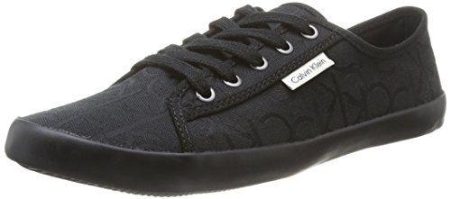 Calvin Klein Jeans Fallon, Herren Tennisschuhe , Schwarz - Schwarz (Blk) - Größe: 42 - http://uhr.haus/calvin-klein-jeans/calvin-klein-jeans-fallon-herren-tennisschuhe-42