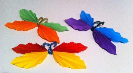 Letnie dekoracje – przestrzenne motyle