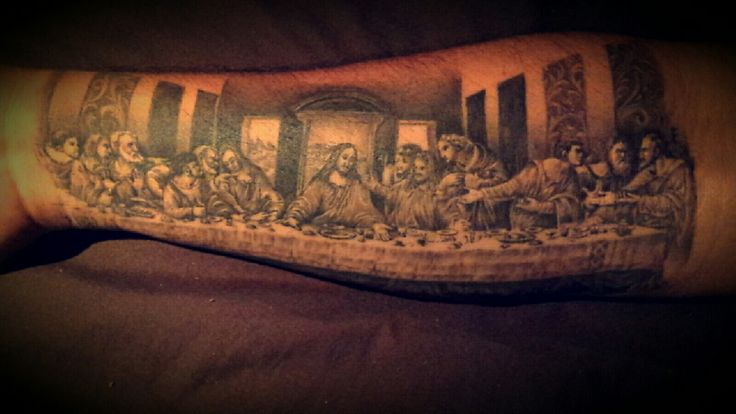 Last supper by cesar romero from lucky kat tat