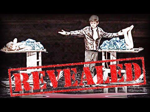 Reveal: Kadan Bart Rockett's Body Cutting Trick in AGT 2016 Audition - YouTube
