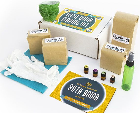 ONE BATH BOMB KIT TO RULE THEM ALL: This kit has everything you need to make 12 bath bomb cupcakes. Includes pre-measured baking soda, corn starch, citric acid and epson salts; PLUS supplies like gloves and spray bottle and even a dozen cupcake mold liners. And of course The #1 Reason