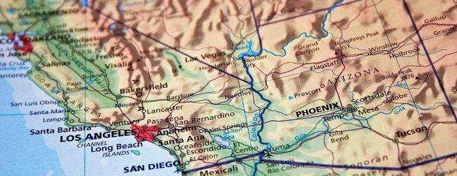 Kort og rejsebøger USA og Canada