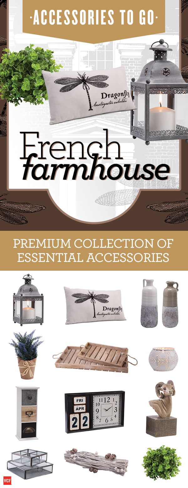 A serene, simple look perfect for any countryside girl at heart with our French Farmhouse - Accessories To Go box!