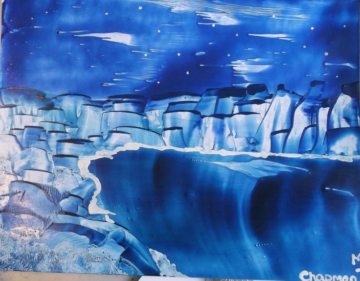 Blue night  original waxdreams  Patty Chapman