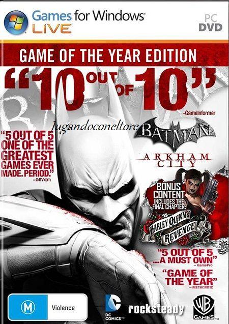 Jugando con el Tore: Batman Arkham City: GOTY Edition
