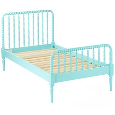 jenny lind bed. This is the same brand of baby crib my mom got when she was pregnant with me :)