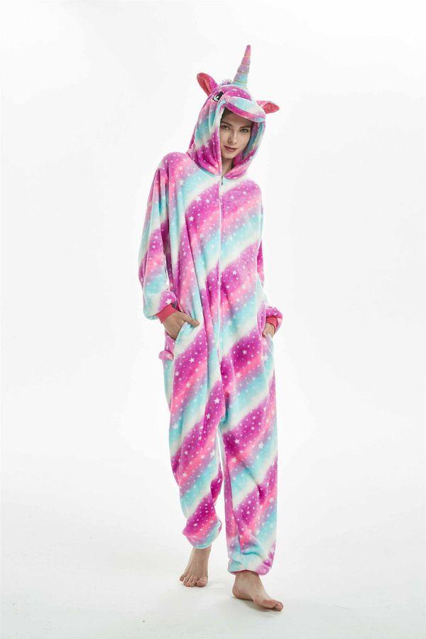 48ad7a1e54 Unicorn Adults Kigurumi costumes cosplay unisex nightgown party animal  sleepwear costumes cosplay Kigurumi