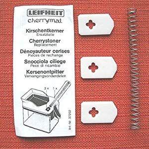 2 X Leifheit Gummilippe  Feder für Cherrymat Kirschen-Entkerner #Küche Haushal…