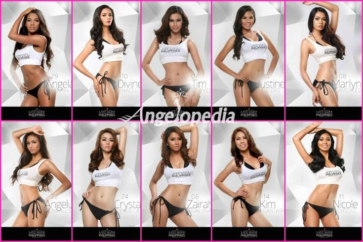Miss Bikini Philippines 2015 Top 10 Finalists Announced