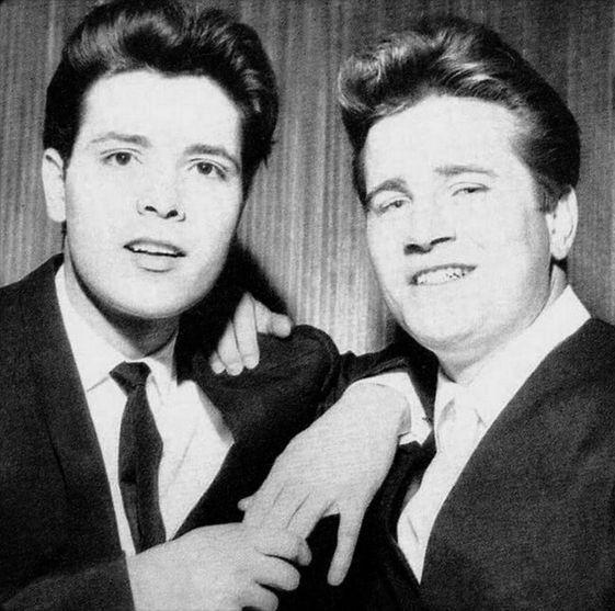 Cliff Richard and Johnny Burnette.