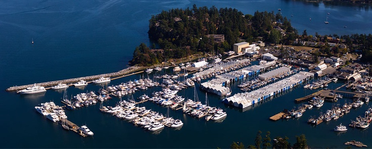 Van Isle Marina, Sidney BC - Moorage Available