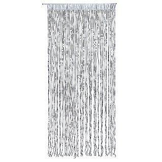 Nice Deko Paillettenvorhang silber u Dekoration bei DekoWoerner