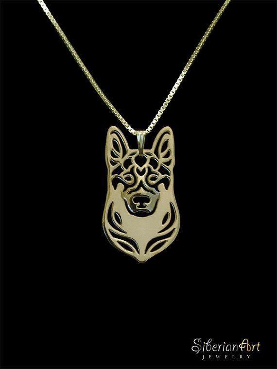 Duitse Herder Honden sieraden  goud