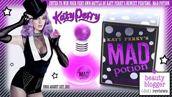 August 2015 Beauty Giveaway - Mad Potion Perfume