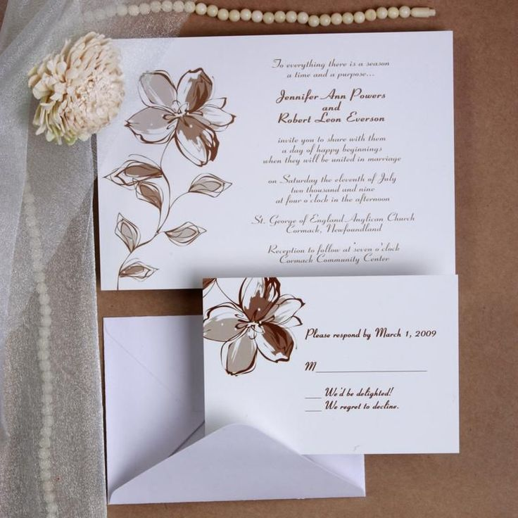 wedding card invitation cards online%0A invitation card greeting card elegant wedding invitations white and brown  fall