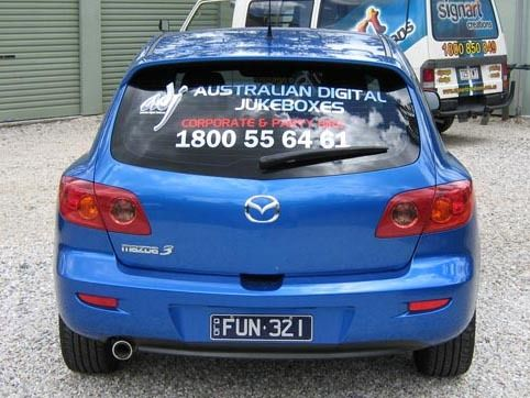 Image Gallery  - Vehicle Signage