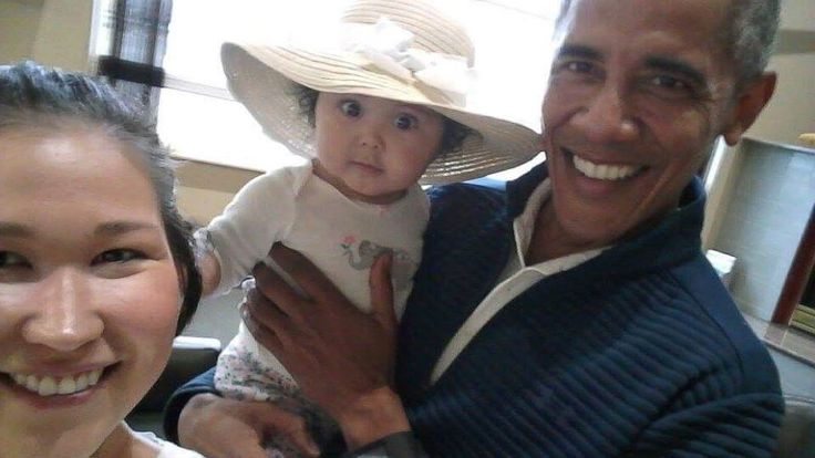 """'Oh my God, it is Obama': Alaska mom, baby meet ex-president https://tmbw.news/oh-my-god-it-is-obama-alaska-mom-baby-meet-ex-president  An Alaska mother is cherishing cellphone photos she snapped of her wide-eyed 6-month-old baby in the arms of former President Barack Obama .Jolene Jackinsky was at Anchorage International Airport on Monday looking for an airline when she ended up in a waiting area for private flights where a man she thought looked like Obama was sitting.""""As I got closer, I…"""
