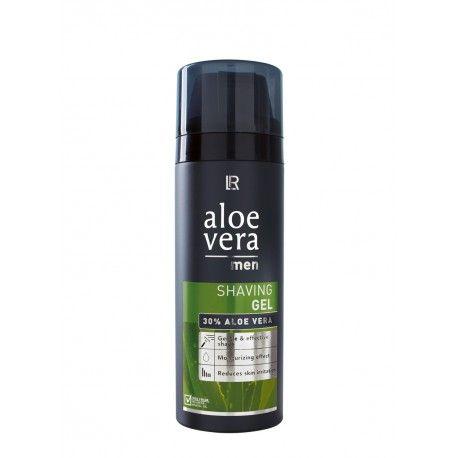 Aloe Vera Men - Shaving Gel; Gel Rasatura a base di Aloe Vera. Il 30% di Aloe permette di ottenere una rasatura rinfrescante e calmante. Ideale per l'uso quotidiano. Riduce le irritazioni della pelle con una rasatura delicata ed efficace. Applicare una piccola quantità sulla pelle inumidita, massaggiare fino a formare una leggera schiuma.  Aloe Vera Men - Gel Rasatura.  Prodotto Certificato: International Aloe Science Council  Tollerabilità Testata  30% Aloe Vera  150 ML