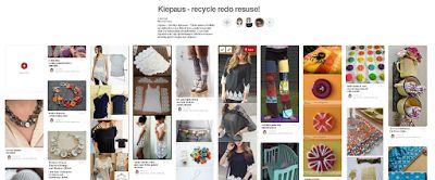 Piilotettu aarre: Kierrätysaatetta ja tuunausideoita levittävä Kiepaus uudistuu Pinterestin avulla