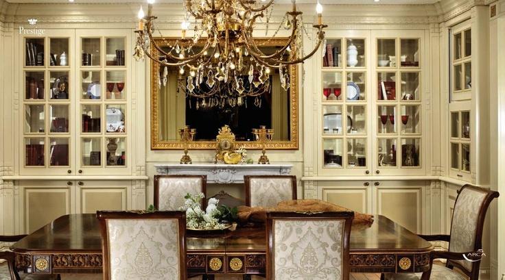 Kompletní vybavení pro Luxusní jídelny od tradiční italské firmy Arca, kompletní nabídka na: http://www.saloncardinal.com/arca-f50