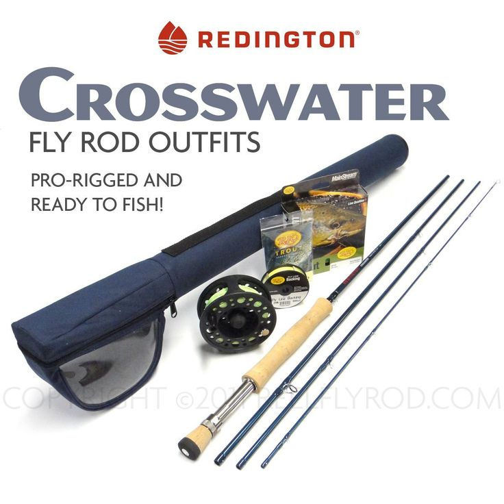 Redington Crosswater 890-4 Fly Rod Outfit (9'0', 8wt, 4pc) * Continue to the product at the image link.
